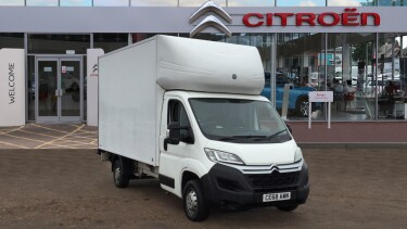 Citroen Relay 35 Heavy L4 Diesel 2.0 BlueHDi Luton 160ps Plus