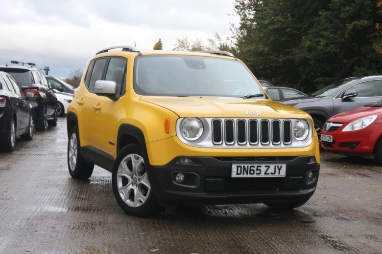 Jeep Renegade 1.4 Multiair Limited 5dr DDCT Petrol Hatchback
