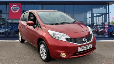 Nissan Note 1.2 Acenta Premium 5dr [Safety Pack] Petrol Hatchback
