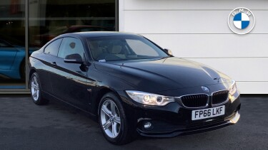 BMW 4 Series 420d [190] xDrive SE 2dr Auto [Business Media] Diesel Coupe