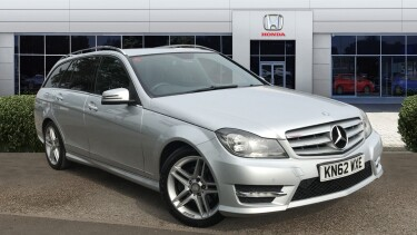 Mercedes-Benz C-Class C200 CDI BlueEFFICIENCY AMG Sport 5dr Auto Diesel Estate