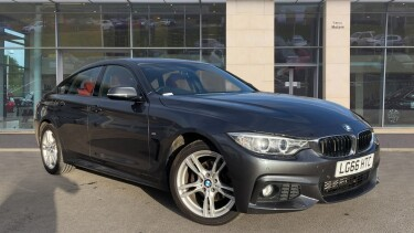 BMW 4 Series 420d [190] xDrive M Sport 5dr [Professional Media] Diesel Hatchback