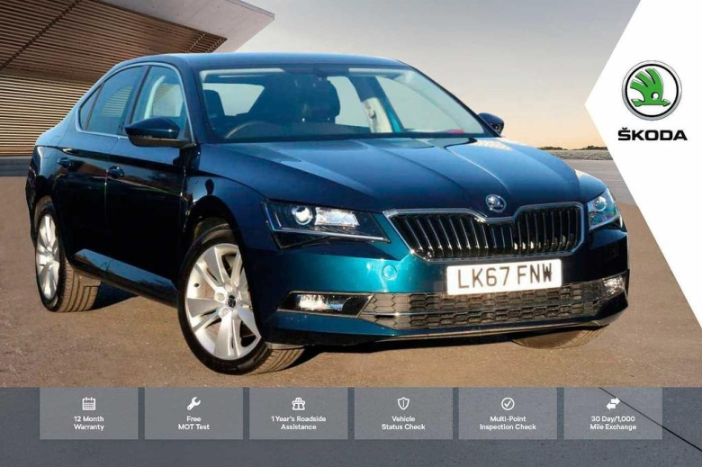 SKODA Superb 1.4 TSI 150 SE L Executive 5dr DSG Petrol Hatchback