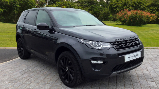 Land Rover Discovery Sport 2.0 Sd4 240 Hse Black 5Dr Auto Diesel Station Wagon
