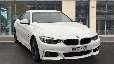 BMW 4 Series 420i M Sport 2dr [Professional Media] Petrol Coupe