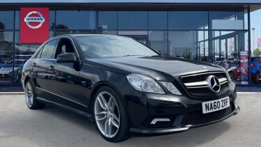Mercedes-Benz E-Class E350 CDI BlueEFFICIENCY [265] Sport 4dr Tip Auto Diesel Saloon