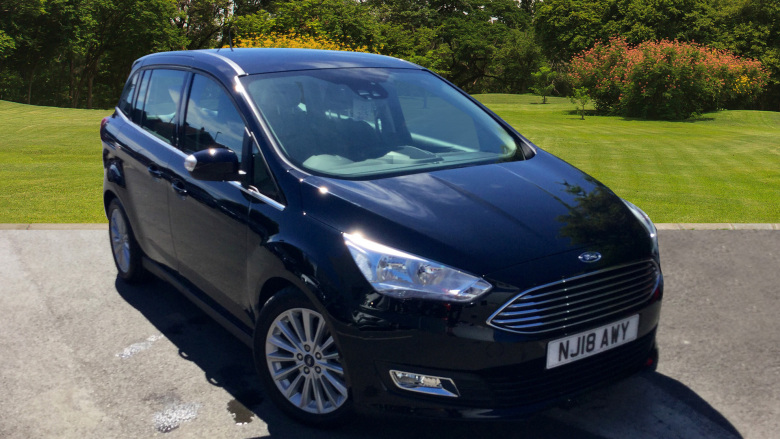 Ford Grand C-MAX 1.5 TDCi Titanium 5dr Powershift Diesel Estate