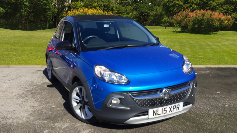 Vauxhall Adam 1.4I Rocks Air 3Dr Petrol Hatchback