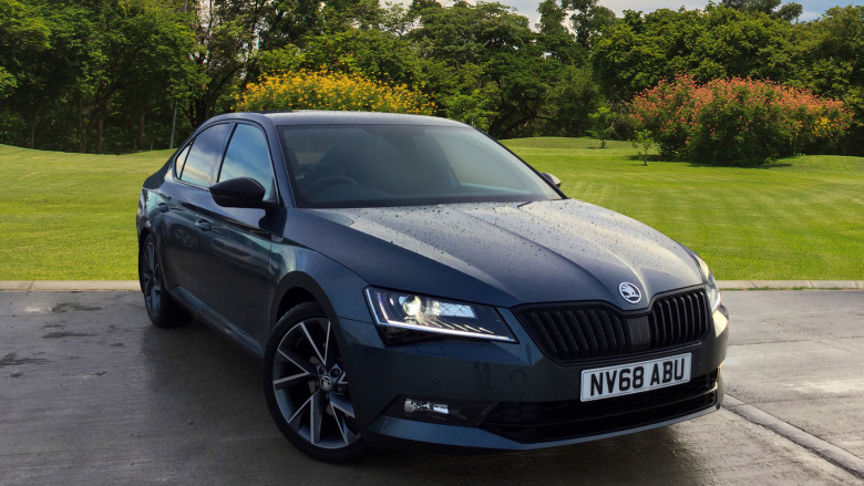 SKODA Superb 2.0 TDI CR Sport Line Plus 5dr DSG [7 Speed] Diesel Hatchback