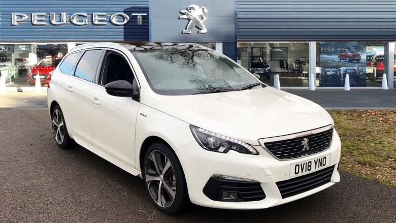 Peugeot 308 1.5 Bluehdi 130 Gt Line 5Dr Eat8 Diesel Estate