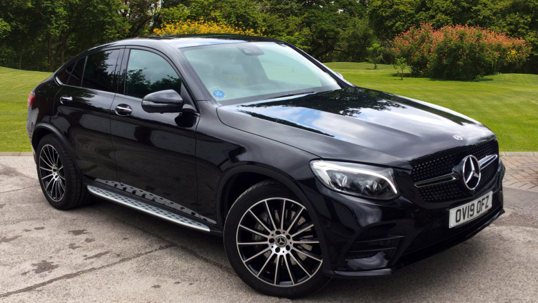 Mercedes-Benz GLC Coupe GLC 220d 4Matic AMG Line Prem Plus 5dr 9G-Tronic Diesel Estate
