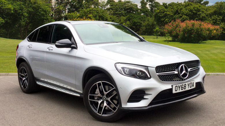 Mercedes-Benz GLC Coupe GLC 220d 4Matic AMG Line Premium 5dr 9G-Tronic Diesel Estate