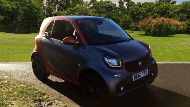 Smart fortwo Coupe 0.9 Turbo Prime Sport Premium Plus 2Dr Auto Petrol Coupe