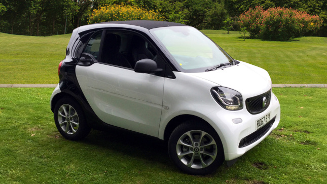 Smart fortwo Coupe 1.0 Passion 2Dr Auto Petrol Coupe