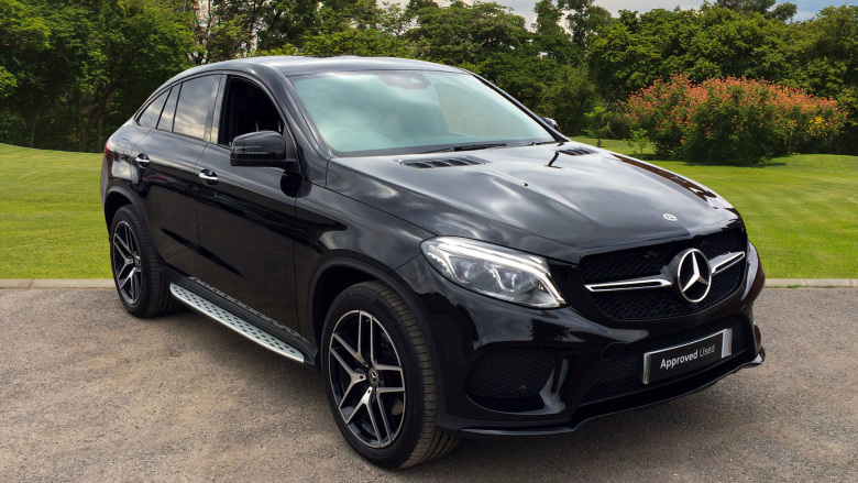 Mercedes-Benz GLE Coupe GLE 350d 4Matic AMG Night Ed Prem + 5dr 9G-Tronic Diesel Estate