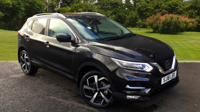 Nissan Qashqai 1.6 Dci Tekna [glass Roof Pack] 5Dr Xtronic Diesel Hatchback