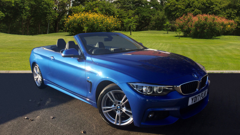 BMW 4 Series 430d M Sport 2dr Auto [Professional Media] Diesel Convertible