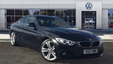 BMW 4 Series 420d [190] Sport 2dr Auto [Business Media] Diesel Coupe