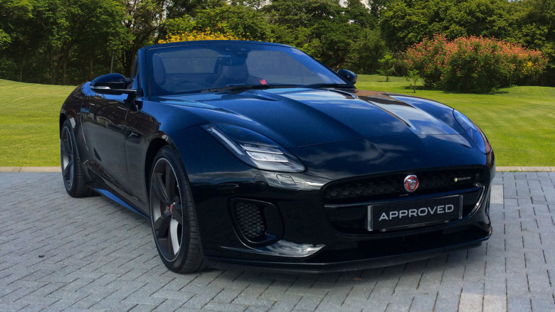 Jaguar F-Type 3.0 Supercharged V6 R-Dynamic 2Dr Auto Petrol Convertible