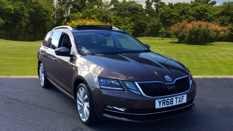 SKODA Octavia 2.0 TDI CR Laurin + Klement 4x4 5dr Diesel Estate