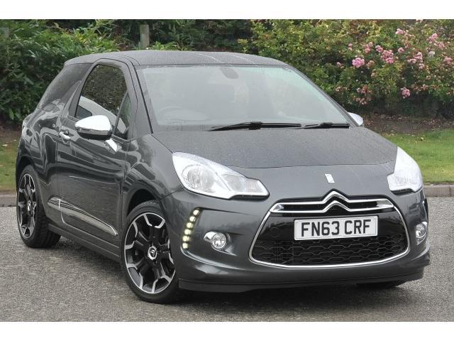 used citroen ds3 1 6 thp 16v 155 dsport plus 3dr petrol hatchback for sale car credit assured. Black Bedroom Furniture Sets. Home Design Ideas