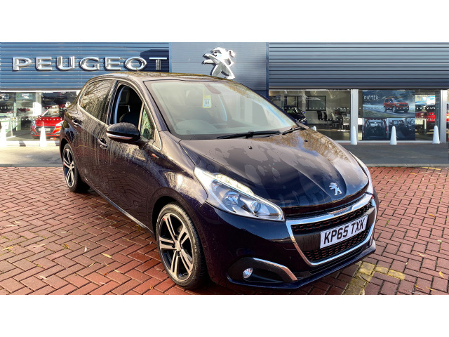 used peugeot 208 1 6 bluehdi 120 gt line 5dr diesel. Black Bedroom Furniture Sets. Home Design Ideas