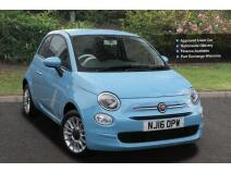 Fiat 500 1.2 Pop Star 3Dr Petrol Hatchback